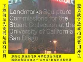 二手書博民逛書店Landmarks:罕見Sculpture Commissions for the Stuart Collecti