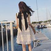 孕婦上衣夏季韓版a字裙潮媽中長款連身裙寬鬆大碼時尚娃娃裙 小確幸生活館
