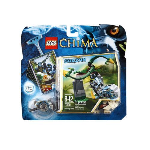 【LEGO 樂高積木】Chima 神獸傳奇系列 - 旋轉樹藤 LT-70109