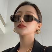 搞怪墨鏡女ins大臉顯瘦歐美復古2021年新款太陽鏡韓版潮網紅眼鏡 嬡孕哺 免運