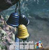 日本巖手南部鑄鐵風鈴 清波復古日式和風寺廟掛飾生日禮物 WD魔方數碼館