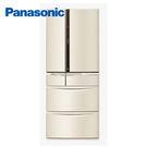 PANASONIC NR-F602VT/N1 日本製 6門電冰箱 601L 香檳金 ↘ 結帳再折 含基本安裝 免運費