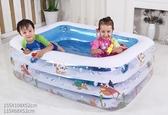 兒童游泳池充氣家庭嬰兒成人家用海洋球池加厚超大號戲水池YXS 夢娜麗莎