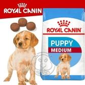 【培菓寵物48H出貨】SHN 法國新皇家飼料《中型幼犬MP》 10KG