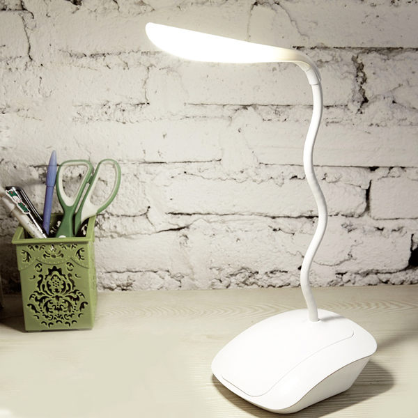 LED充電台燈護眼學習兒童宿舍臥室床頭燈夾式USB夾子閱讀小台燈  SSJJG