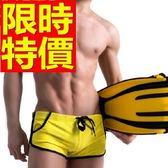 四角泳褲-溫泉流行有型休閒男平口褲56d87[時尚巴黎]