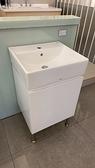 【麗室衛浴】日本TOTO L710 方型檯上盆配發泡板浴櫃+美國KOHLER 單槍臉盆龍頭 K-12050T