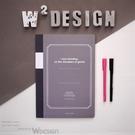 W2Design 有一本工具書告訴大家: 聰明的人都用方格筆記本! 其實是方格筆...
