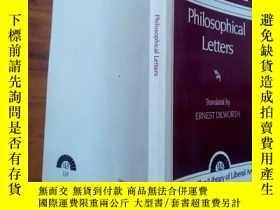 二手書博民逛書店Voltaire罕見--philosophical letter