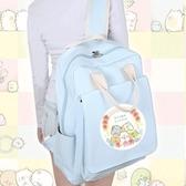 角落生物包包 角落生物書包女日系韓版帆布雙肩包動漫二次元背包 叮噹百貨
