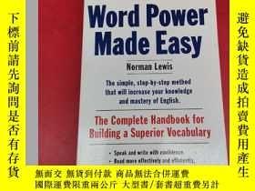 二手書博民逛書店Word罕見Power Made Easy: The Complete Handbook for Building