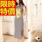 洋裝-無袖氣質優雅俏麗韓版連身裙61a23【巴黎精品】