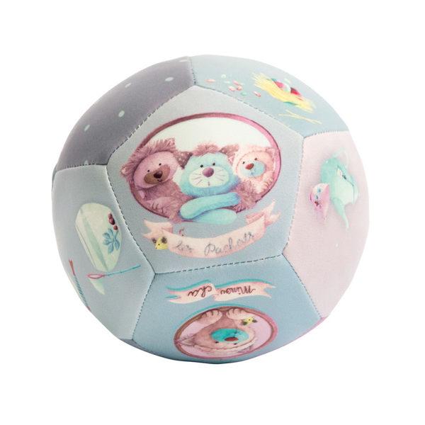 【安垛小姐】法國 Moulin Roty 帕奇寶貝PU軟球