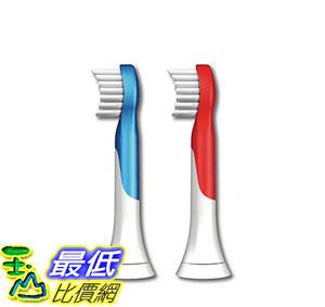 [美國直購 ShopUSA] Philips Sonicare 牙刷 HX6032/64 Sonicare for Kids Replacement Brush Heads, Ages 4-7, 2 Pack $1038