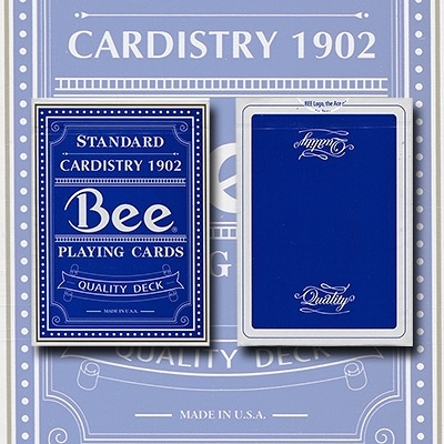 【USPCC撲克】Quality Bee Playing Cards 藍色蜜蜂頂級撲克牌