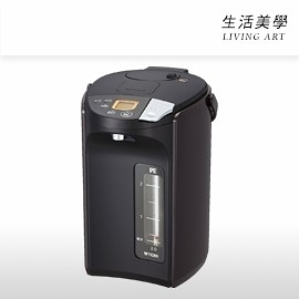 虎牌 TIGER【PIS-A300】熱水瓶 3公升 無蒸氣 快速煮沸 防止空燒 無線使用 手壓出水