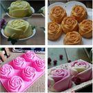 冰皮月餅模 矽膠皂模  六入玫瑰皂模   果凍模 蛋糕模  想購了超級小物
