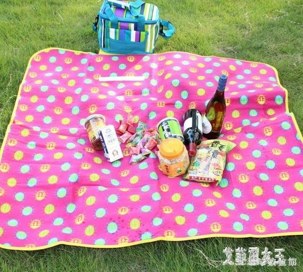 野餐墊戶外防潮墊 野炊墊子 沙灘墊野餐墊 野外墊防水墊 情侶墊 LH3387【艾菲爾女王】