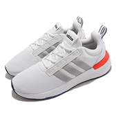 adidas 慢跑鞋 Racer TR21 白 灰 橘紅 男鞋 愛迪達 基本款 運動鞋 【ACS】 GZ8191