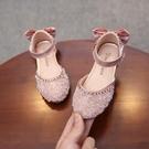 兒童涼鞋 女童鞋公主鞋春夏季新款女寶寶韓版包頭兒童半涼鞋小女孩水晶 瑪麗蘇