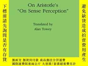 二手書博民逛書店On罕見Aristotle s On Sense Perception-論亞裏士多德的感官知覺Y436638