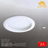 HONEY COMB 大尺寸LED 30W 崁燈 單入TK3403-4 自然光