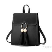 後背包雙肩包女2019韓版時尚百搭學生女士包包2019新品潮定型背包女書包