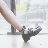 日系軟妹復古女單鞋鬆糕娃娃鞋學院風厚底英倫小皮鞋學生鞋潮 居享優品