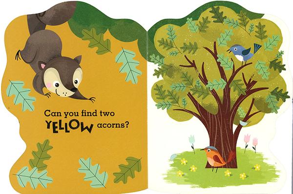 【小松鼠顏色學習書】THE SNEAKY, SNACKY SQUIRREL/硬頁翻翻書《主題:顏色》