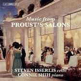 【停看聽音響唱片】【SACD】普魯斯特的沙龍音樂 史蒂芬.伊瑟利斯 大提琴 史康寧 鋼琴