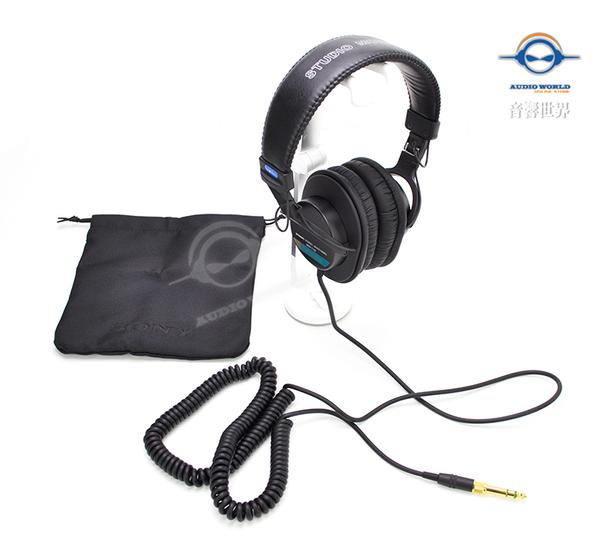 ‧音響世界‧日本SONY MDR-7506最經典專業監聽耳機