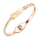 鈦鋼手環 時尚設計幸運款鈦鋼流行手環