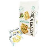 (免運費) 自然主意 奇亞籽藍藻蔥餅生機蘇打餅180g/袋 健康隨身包(植物五辛素) 排隊美食