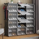 鞋架鞋櫃 簡易防塵鞋架收納組裝家用經濟型省空間宿舍鞋櫃簡約現代門廳櫃 鉅惠85折