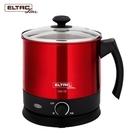 ELTAC歐頓  2.2公升 不鏽鋼美食鍋 EBK-08 /304不鏽鋼內膽設計