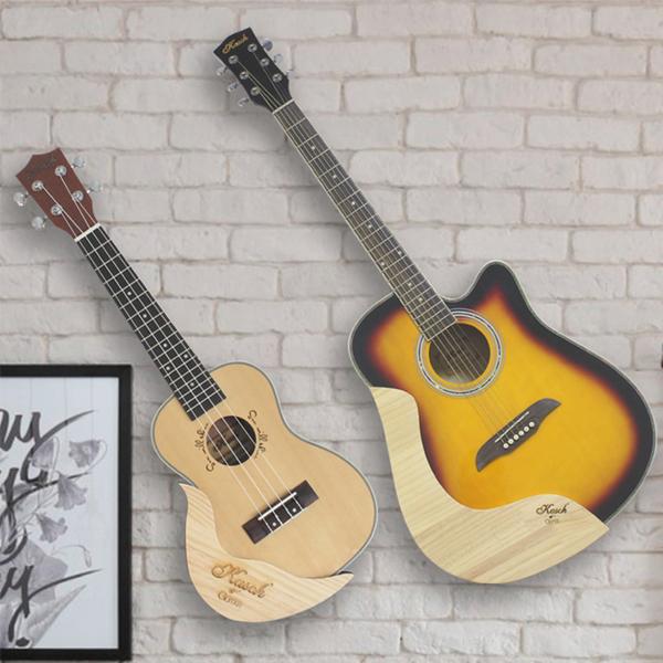 吉他架子墻架免打孔家用掛裝創意立式支架斜放掛架【雲木雜貨】