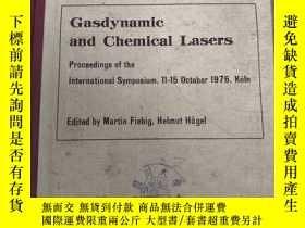 二手書博民逛書店Gasdynamic罕見and chemical lasers