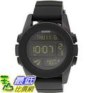 [105美國直購] Nixon Men s 男士手錶 Unit A197000 Black Polyurethane Quartz Watch _z01 $3488