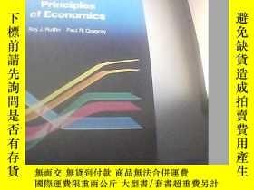 二手書博民逛書店PRINCIPLES罕見OF ECONOMICS 經濟學原理 [