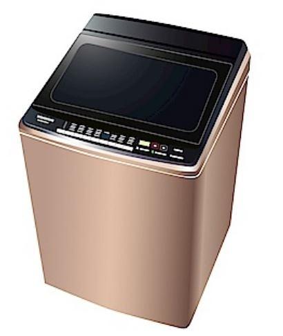 雙科技ECONAVI智慧節能+奈米水離子◤國際牌16公斤變頻洗衣機NA-V160GB-PN 玫瑰金 ◢