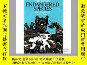 二手書博民逛書店Endangered罕見species and fables 神