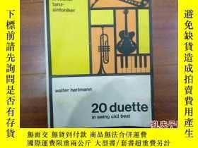 二手書博民逛書店《20罕見duette in swing beat》五線樂譜Y1
