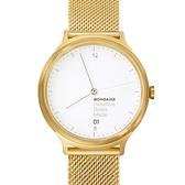 設計系列腕錶- 金米蘭帶/38mm  Mondaine 瑞士國鐵錶