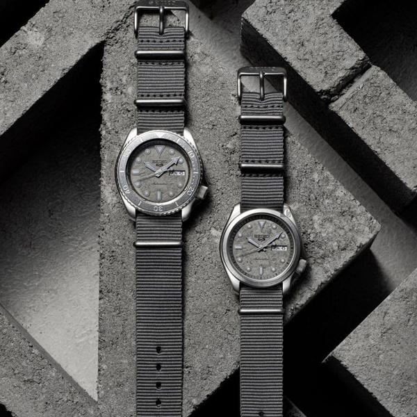 SEIKO 精工 5 Sports Cement 系列機械錶(SRPG63K1/4R36-08L0N)-40mm
