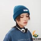 帽子男女秋冬毛線帽百搭保暖冷帽針織帽【創世紀生活館】
