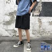 男士短褲夏天純色寬松休閑褲學生百搭五分運動褲子【英賽德3C數碼館】