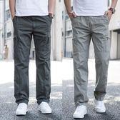 夏季男士寬鬆休閒長褲子
