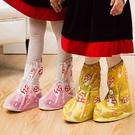 防水鞋套 雨天兒童小孩子加厚防滑耐磨雨靴套幼稚園防沙鞋套【八折搶購】