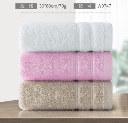 毛巾 毛巾純棉洗臉家用情侶一對中號柔軟吸水不掉毛小長方形 3條【快速出貨八折搶購】
