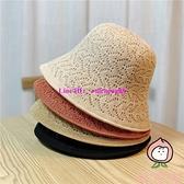 雙面漁夫帽女韓版百搭遮陽帽夏季透氣遮臉防曬帽薄款【桃可可服飾】